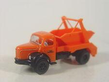 Berliet AK LKW GLR 8 Saarbrücken orange  - Brekina HO 1:87 LKW 85394 #E