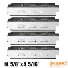 Charbroil Gas Barbecue Grill Heat Tent Stainless Steel Heat Plate SH98741-4 Pack  sc 1 st  eBay & Stainless Steel Heat Shields/Heat Plates Replacement Parts | eBay
