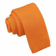 Tangerine Boys' Tie Knit Knitted Plain Casual Children Necktie by DQT