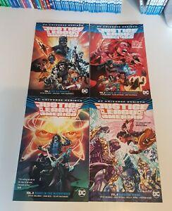 DC Universe Rebirth JLA #1-4 Graphic Novel (DC Comics, 2017)