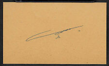Saddam Hussein Dictator of Iraq Autograph Reprint On Genuine 1970s 3x5 Card