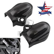 Black Bar & Shield Rear Axle Cover swingarm For Harley VRSC V-Rod VRSCA 02-up US