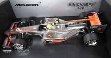 MCLAREN MERCEDES MP4-25 #2 Lewis HAMILTON F1 2010 race version MINICHAMPS 1:18
