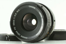 [Exc+4] Canon FD S.C. 35mm f/3.5 MF Prime Wide Lens from JAPAN #114