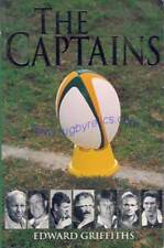 South Africa Rugby Book The Captains by Griffiths signed by 18 former Springboks