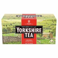 Taylors Yorkshire 240 Teabags 750G - Sold Worldwide from UK