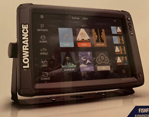 Lowrance Elite-12 Ti2 Fishfinder Chartplotter  3-in-1 Transducer US Inland Maps