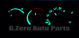 2003-2007 DODGE RAM 1500 2500 3500 CLIMATE CONTROL LIGHT KIT LED **GREEN**