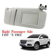 Tan Beige Sun Visor Right Passenger for 2007-11 Toyota Camry W/O vanity light am