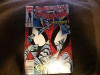 Lot of 2 Marvel Spiderman Comics: Dec 1991 Ghost Rider and Feb 1992 Hobgoblin