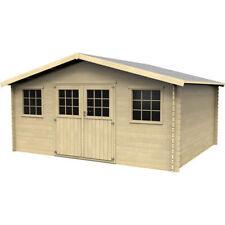 Casetta in legno box attrezzi deposito da giardino 478x398 cm Fabulosa