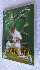 Steve Waugh (DVD, 2004) REGION-4, LIKE NEW, FREE POST WITHIN AUSTRALIA