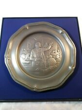 """American Revolution Bicentennial Plate """"Patrick Henry Urges Armed Resistance"""""""