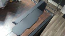 Horizontal Floor Paper Towel Rack Holder Flat Black *For Asia Buffet