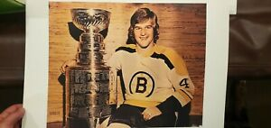 Vintage NHL Boston Bruins Bobby Orr ALL Trophies, Stanley Cup. Wales and Cup,