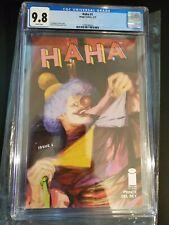 Haha #1 (Image Comics 1/21) Graded CGC 9.8 W Maxwell Prince story