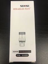 (5-Pack) Authentic Sense Herakles Plus 316L Coils NEW IN BOX w/ Scratch Code