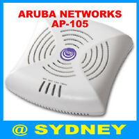 Aruba Networks AP-105 W-AP105 Dual-Band Wireless Access Point 802.11n POE AP