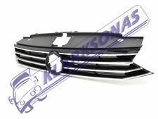 VW PASSAT B8 EUROPE 2014 -ON NEW FRONT GRILL GRILLE GRILLS CHROME 3G0853651BKZ