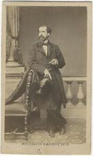 Photo Bousseton et Appert Cdv Albuminé Portrait Homme Vers 1860