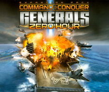 Command and Conquer Generals Zero Hour Fun game PC 2 CDs with unused Code