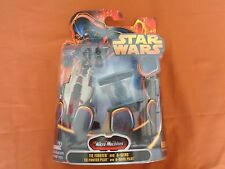 MICRO MACHINES STAR WARS TIE FIGHTER PILOT WING HASBRO 2005 NUOVO SIGILLATO