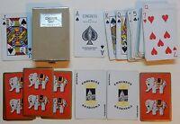 PLASTIC COATED CONGRESS CEL-U-TONE FINISH 52 PLAYING CARDS - p01!
