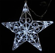 New Christmas Acrylic Star 60 LED Light Fetive Xmas Decoration Indoor Outdoor