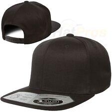 Flexfit One Ten ® Flat Bill Snapback - Adjustable Hat + Flex Fit Tech 110F 110FT