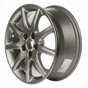 04025 Reconditioned Factory OEM 17X7 Alloy wheel Hyper Silver Full Painted