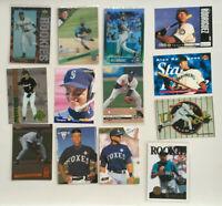 Alex Rodriguez 13 DIFFERENT Card ROOKIE LOT! Sportflics-Upper Deck-4Sport Chrome