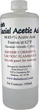 Gallon of Glacial Acetic Acid 99.85% Pure ethanoic acid