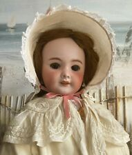 """ANTIQUE FRENCH SFBJ 301 BEBE BISQUE HEAD DOLL c1910 22"""" EXQUISITE OUTFIT BEAUTY"""