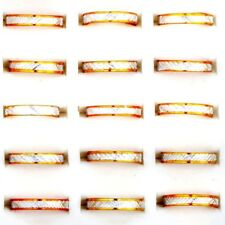 100 Pcs Wholesale Jewelry Lots Gold Band Ring Alloy Fashion Rings Free Shipping