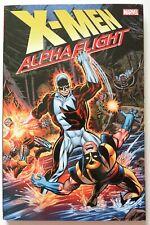 X-Men Alpha Flight Marvel Graphic Novel Comic Book