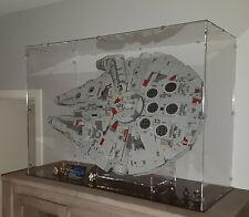 Acrylglas Vitrine Haube für LEGO Modell Millennium Falcon 75192 mit Ständer