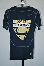 Nike Pro Combat Men's Blue CSU Buccaneer FootBall Compression Shirt Sz L