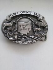 Ottawa County Ohio Commemorative Belt Buckle #208/250