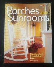 Porches and Sunrooms - ROGER GERMAN - Planning and Remodeling Ideas *Like New*