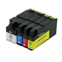 4PK Ink Cartridges Printer For Lexmark 200xl OfficeEdge Pro4000c Pro4000 Pro5500