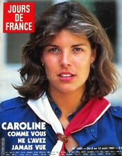 Jours de France n°1492 - 1983 - Caroline de Monaco - Lynda Carter - J. Hallyday