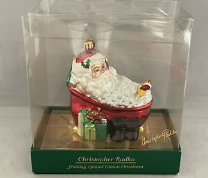 Christopher Radko Limited Edition Holiday Ornament- Bath & Body Works Exclusive
