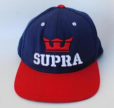 """SUPRA"" Skateboard Shoe Brand One Size Fits All Snapback Baseball Cap by STARTER"