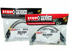 Stoptech Stainless Steel Braided Brake Lines (Front & Rear Set / 33007+33502)