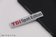 E858 TDI Sport Edition Emblem Badge auto aufkleber car Sticker Metall