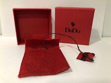 New - Dodo - Case Box Scatola - Cardboard Paper -network - 3 3/8x3 3/8x1 5/8in