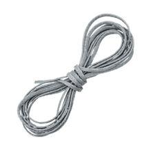 Gris 1mm Joyas Hilo Encerado Poliester Puntilla macramé Cable 1 metros de largo (D58/2)