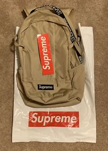 New Supreme SS18 Backpack (Tan)