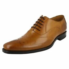 Mens Loake Smart Leather Lace up Shoes Gunny Tan (brown) UK 9 F