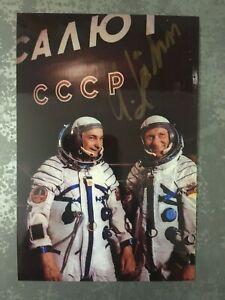 Sigmund Jähn Autogramm Weltraum Kosmonaut DDR ESA Astronaut Original Signiert !